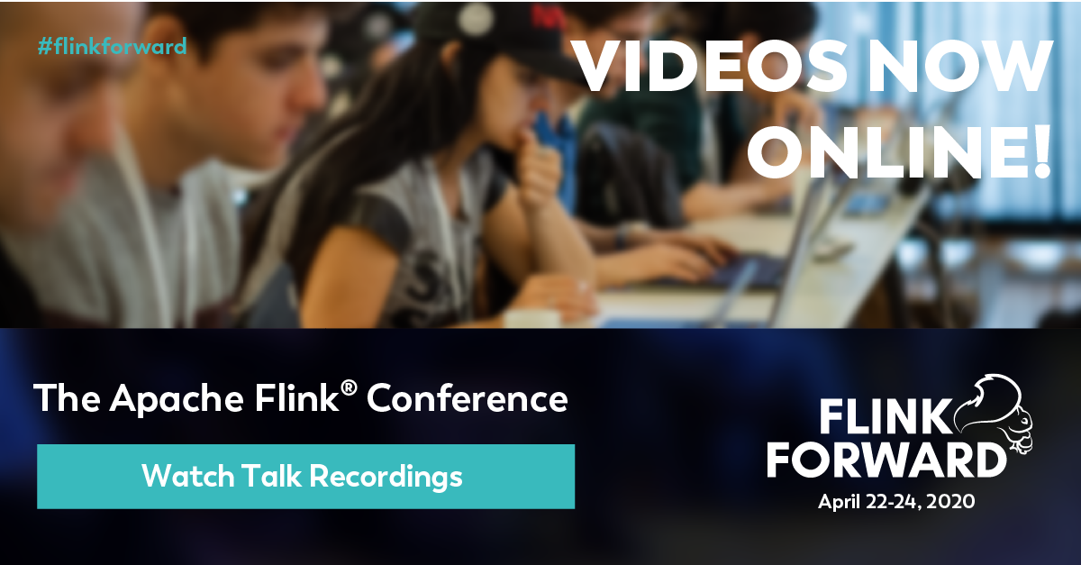 Flink Forward Virtual Videos Online